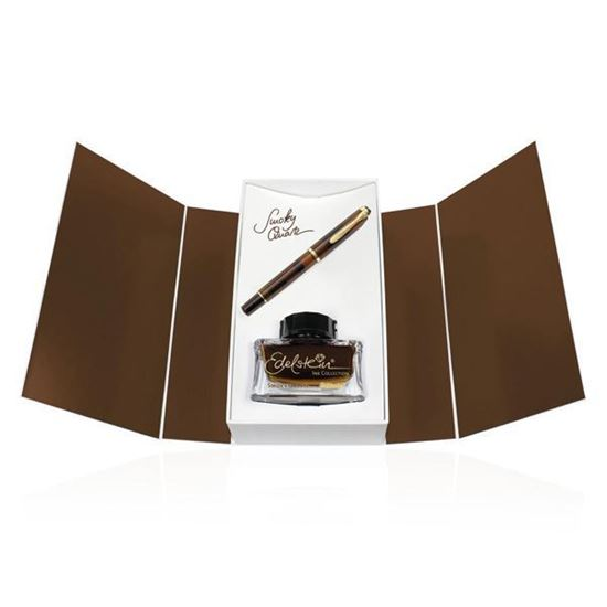 Picture of Pelikan M200 Smoky Quartz Set