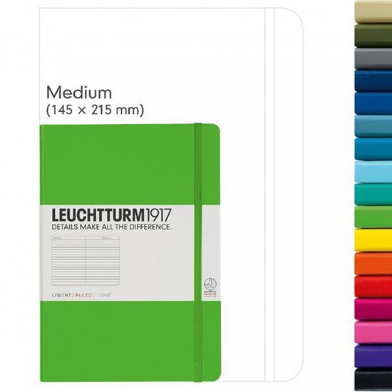 Picture of Leuchtturm 1917 A5 Notebook Ruled
