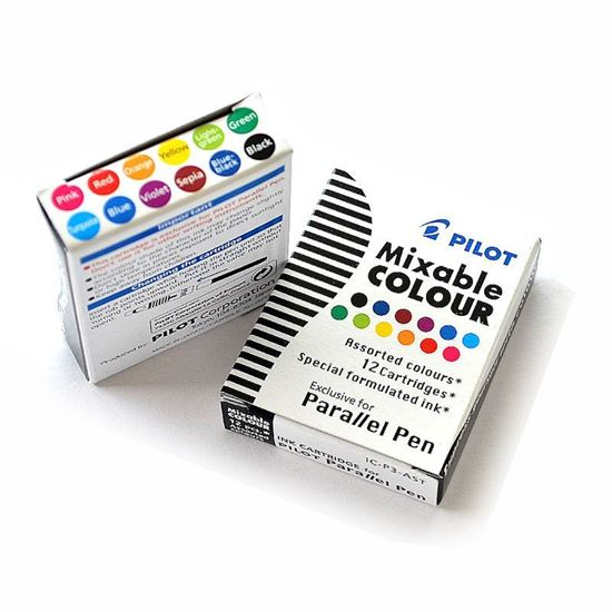 Picture of Pilot Parallel Ink Cartridges 12 Colors